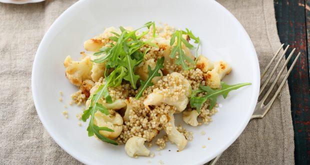 quinoa salad with cauliflower